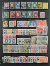 ST HELENA STAMPS GOOD SELECTION ON LARGE STOCK CARD  (C78)
