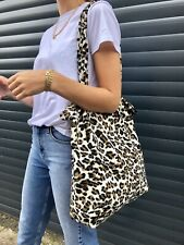 Leopard Print Faux Fur Tote Bag Similar To Topshop Zara