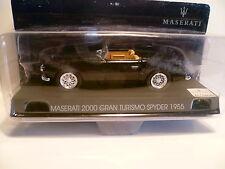 MASERATI  2000 GRAN TURISMO SYDER NOIR de 1955 ~  NEUF