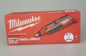Milwaukee 2460-20 M12 Li-Ion Rotary Tool Cordless 12V NEW