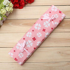 Pink Knitting Needle Crochet Hook Organizer-Bag Pouch Holder Storage Case Box