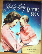 Lovely Baby Knitting Book, Wife and Home October 1957