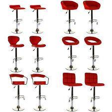 Red Stools And Breakfast Bars Ebay