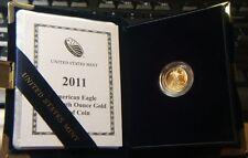 2011-W~~US Mint~~AMERICAN GOLD PROOF EAGLE~~$5 GOLD PROOF W/ COA