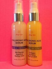 4oz(2B) Hyaluronic Acid Serum/Cream, Silk Peptide, Collagen,Argireline, Matrixyl