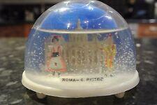 Vintage Retro Snow globe ROMA S. PIETRO
