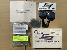 Speedplay X/2 Pedals Blue Used once, with Brand New Cleats in Box