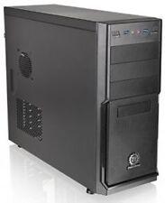 ThermalTake V2 Plus Mid-Tower Case - 500W PSU, Black 120mm Fan, 80mm Fan
