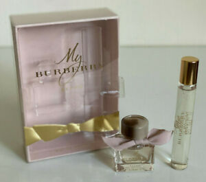 NEW! MY BURBERRY BLUSH EAU DE PARFUM PERFUME & TRAVEL SPRAY DUO GIFT SET SALE