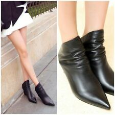 Unbranded Leather Booties for Women