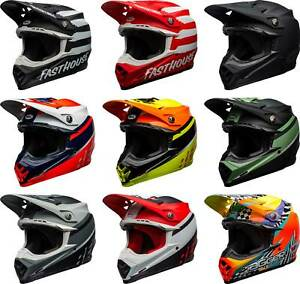 Bell Moto-9 MIPS Helmet - MX Motocross Dirtbike Off-Road MTB ATV Adult Men Women