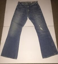 """Preowned- Guess Mens Boot Cut """"Vintage Demin"""" Size 32/32"""