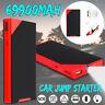 69900mAh USB Auto Jump Starter Power Bank Starthilfe Ladegerät LED 12V Booster