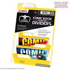 Ultimate Guard PREMIUM Comic Book Dividers - YELLOW