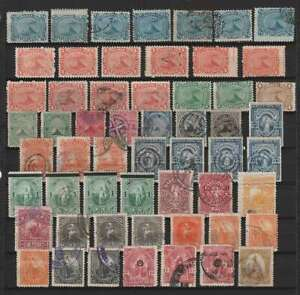 D1597: 19th C Salvador Stamp Lot; CV