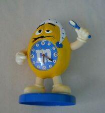 M&M's Yellow Alarm Clock Peanut Sleepy Toothbrush Toy