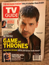 TV GUIDE 4/17-5/17 GAME OF THRONES-Double Issue Jackie O Big Bang Theory & More