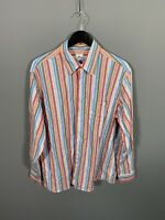 LACOSTE Shirt - XL - Striped - Great Condition - Men's