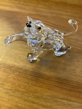 Swarovski Crystal Figurine #210460 Lion Cub Mint in Box w Coa