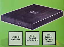 Gehäuse extern Slim für Odds Cdsl03u2s SATA Usb-port Alu schwarz Chili