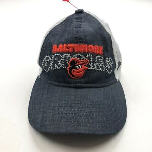 Baltimore Orioles New Era Youth Boys Gray Emblem Embroidered Hat Adjustable