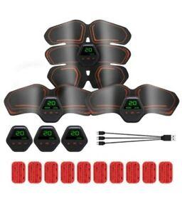 EMS Muscle Stimulator Abdominal Toning Belt Muscle Trainer Body Training Device