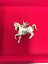Pre-Owned 14k 4.7g Yellow-Gold Pegasus Greek Mythology Mystical Creature Pendant