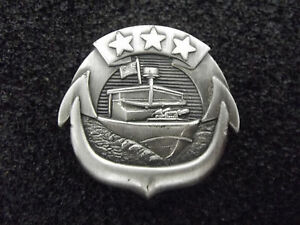 ^*(A23-031) Navy Small Craft Badge Enlisted