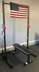 cap barbell power rack