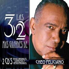 CD Mega RARE salsa CHEO FELICIANO las 32 mas grandes CANTANDO yo soy un angel