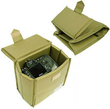 Waterproof DSLR SLR Camera Insert Padded Partition Folding For Canon Nikon Sony