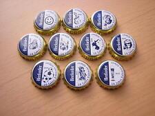 10 Herforder Kronkorken  2012  komplette Serie  10 Bottle Caps , Capas , Tapi