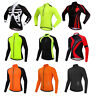 Long Sleeve Cycling Jersey MTB Road Bike Cycle Shirt Breathable Bicycle Clothing