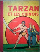 BD TARZAN & LES CHINOIS  n°6 Hachette 1939