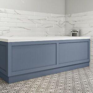 1700mm Matt Blue Bath Front Panel - Baxenden