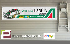 Lancia Stratos Garage Banner for Workshop, Garage, Retro, Rally Team, Alitalia,
