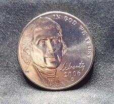 2006-D 5C, BU,  Monticello Jefferson Nickel, From Mint Rolls, Free Ship