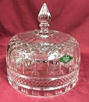 Shannon Irish Crystal Cheese Dome