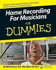 Home Recording For Musicians For Dummies (For Dummies (ComputerTech))