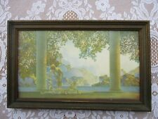 Small Antique Framed Maxfield Parrish DAYBREAK Litho Print