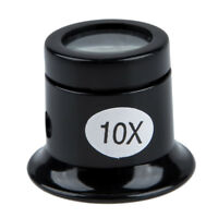 10x Watch Eyes Loupe Jeweller Optical Glass Magnifier Magnifying Len Tool WS