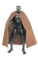 "MY-C-BN: FIGLot 1/12 fabric cape for 6"" action figures (No figure) - Brown"