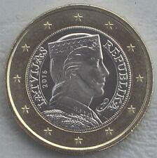 1 Euro Kursmünze Lettland 2016 unz
