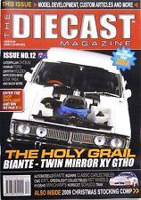 The Diecast Magazine Issue 12 Australia Bathurst Biante Datsun VW Caterpillar