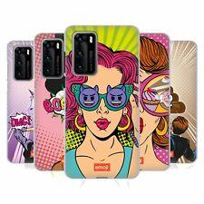 OFFICIAL emoji® POP ART SOFT GEL CASE FOR HUAWEI PHONES 4