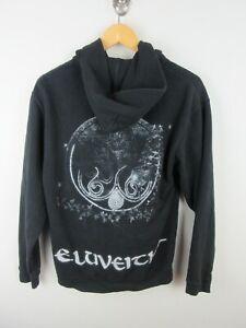 Eluveitie Helvetios Mens Jacket Sweater Size S Graphics Print Hoodie Album Promo