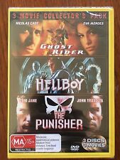 3 Movie Collector S Pack Ghost Rider Hellboy The Punisher