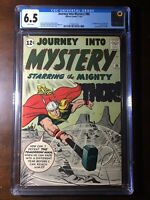 Journey Into Mystery #86 (1962) - 2nd Odin! 4th Thor! - CGC 6.5 - White Pages!!