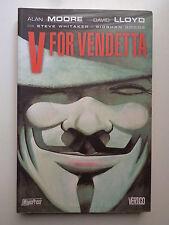 V FOR VENDETTA MOORE/LLOYD MAGIC PRESS 2005 PERFETTO STATO