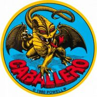 "Powell Peralta Bones Brigade Steve Caballero Dragon Skateboard Sticker 3.5"""